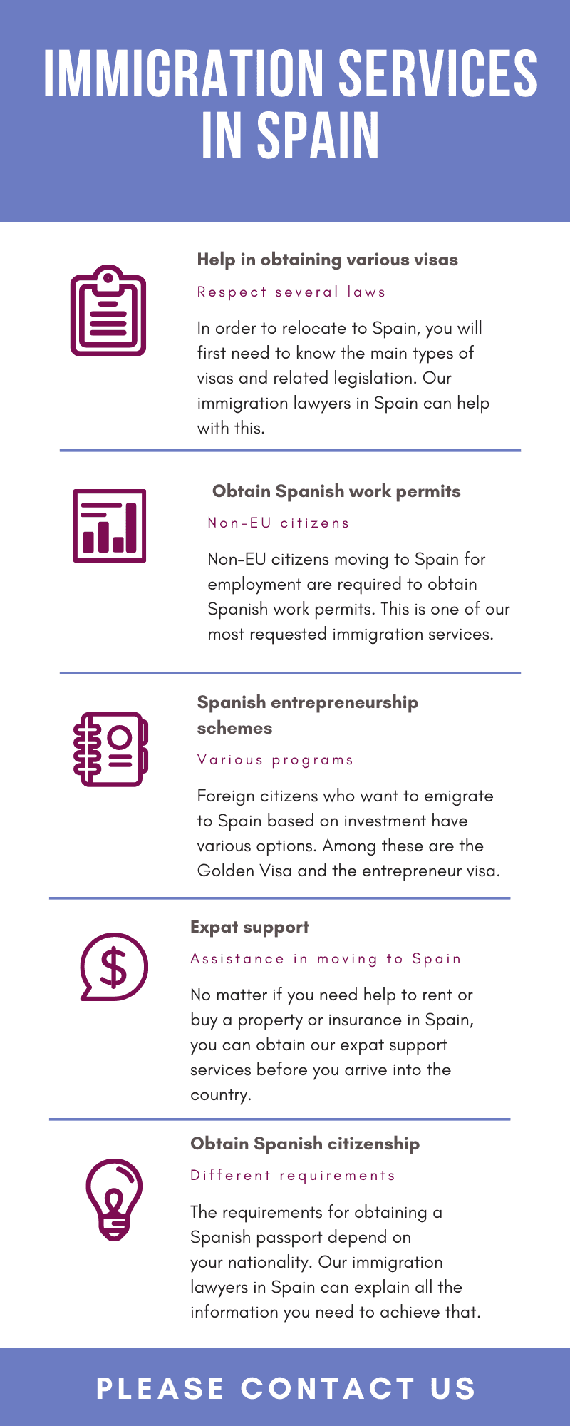 Immigration Services in Spain